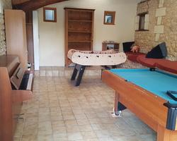 Chez Gendron - Saint-Palais - Salle de jeux